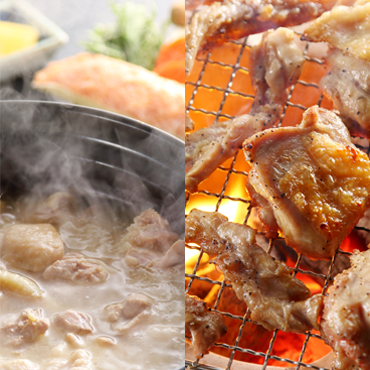 水炊きと華味鳥三昧セット