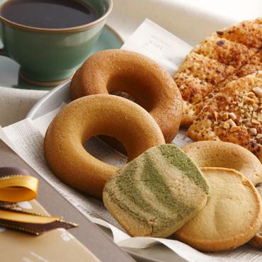 米粉焼きドーナツと焼き菓子のセットA