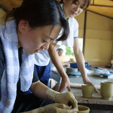 【来町される方限定】福智への旅プラン「上野焼作陶体験」