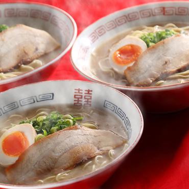 まむし 豚骨ラーメン(生スープ)3食セット