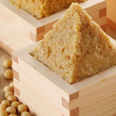 純天然 米みそ2kg(樽入)