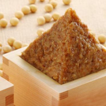 純天然 麦みそ2kg(樽入)