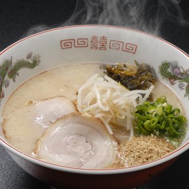 山小屋 豚骨ラーメン(特製焼豚&辛子高菜)6食セット