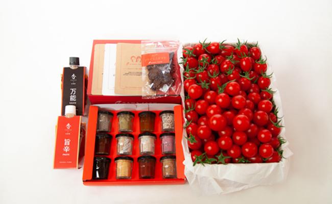 香トマトのpetitギフト<OGAWA FARM>