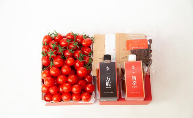 香トマトのメルシーギフト<OGAWA FARM>