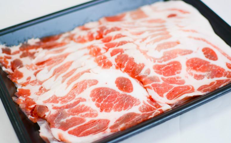 ■鹿児島県産黒豚カタローススライス1.2kg