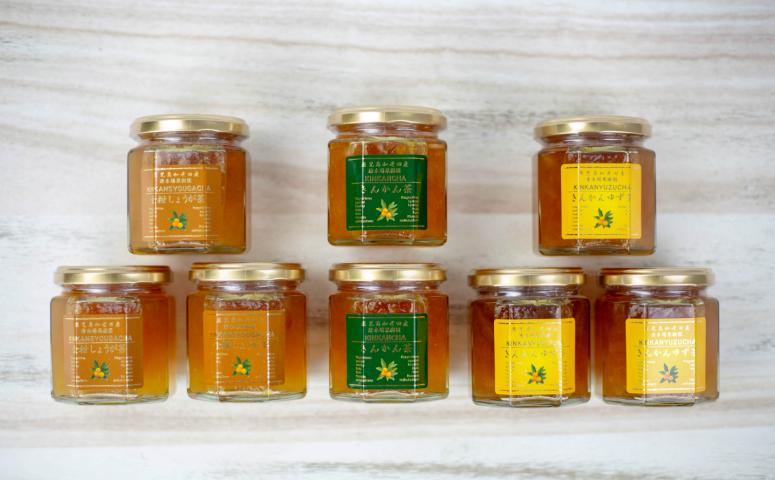 ■金柑茶バラエティ8本セット