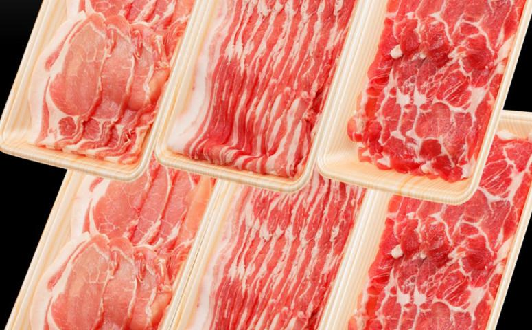 ■【2019年6月お届け】鹿児島県産豚3種類大容量1.5kgセット